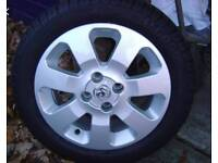 """Vauxhall Corsa C 15"""" SXI Alloy Wheel & 185/55/R15 Tyre with loads of Tread"""