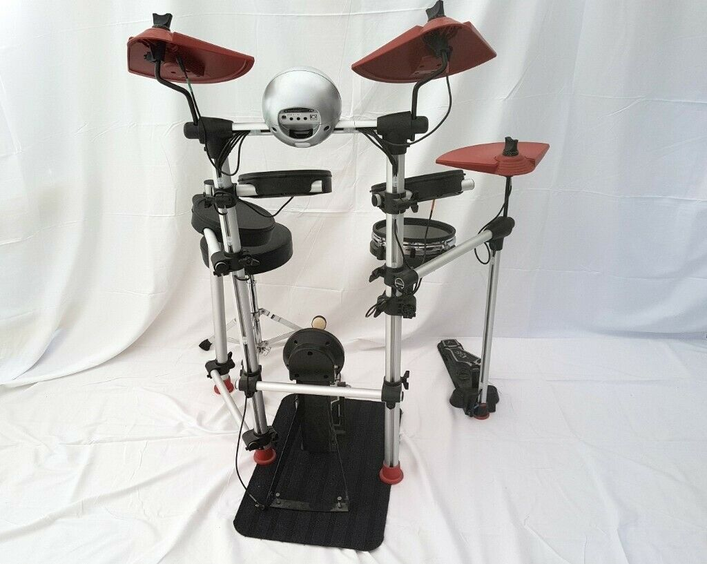 DD501 SX Digital Compact Electronic Drum Kit with Stool, Sticks, and Cables  | in Didcot, Oxfordshire | Gumtree