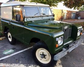 1971 Land Rover Series 2A SWB 88 Hard Top 2.25 Petrol Bronze Green