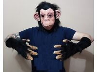 NEW Monkey mask and gloves