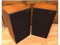 Solavox Pr40 3 Way Speakers Vintage Hi-fi