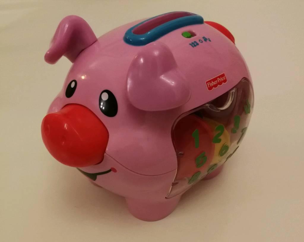 Childrens play piggy bank