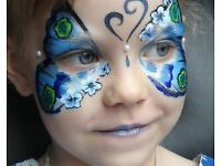 Face painting. Face painter children's parties and events
