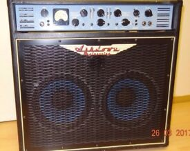 Ashdown ABM EVO III 500 2 x 10 Bass Guitar AMP, Excellent Condition
