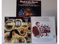 3 Big Band LPs - Lionel Hampton, Peter Dennis, Duke Ellington, Count Basie, Harry James and more