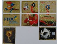 PANINI WORLD CUP 2018 STICKERS - LEGENDS & FIFA SPECIAL SHINYS & SOME TEAM LOGO SHINYS SELL or SWAP