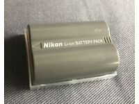 Original Nikon battery for DSLR : EN-EL3e