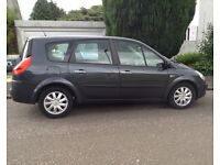 2008 Renault Grand Scenic 1.9, All new brakes, 5 Seater, Large boot, MOT to July 2017, 94,600 miles