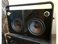 TDX 2 speaker Boombox New condition