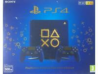 Blue Limited Edition PlayStation 4