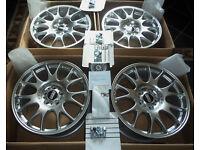 19'' GENUINE Brand New BBS MotorSport Alloy Wheels BMW AUDI MERCEDES VW