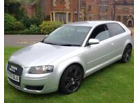 2007 AUDI A3 1.9 TDI SPECIAL EDITION RS4 ALLOYS FULL HISTORY NOT 120D FR GOLF GTI TYPE R 320D LEON