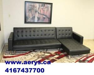 KLICK KLACK SECTIONAL SOFA BED ON SALE FOR $299 ONLY !!!! CALL 4167437700