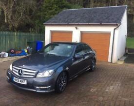 2013 Mercedes c220 premium plus amg line