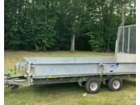 Ifor Williams trailer,