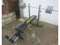 Delta Fit Weight Bench Excellent Solid Condition