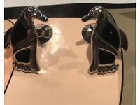 Cufflinks with rind stone eyes (new)
