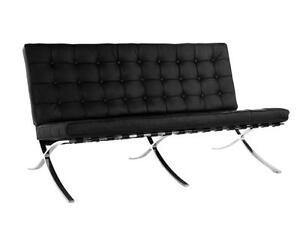 Barcelona Sofa & 2 Seater - Full Italian Genuine Leather - Clearance Sales!