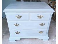 Duck Egg Chest of Drawers (2x Available)