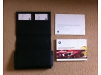 BMW 3-SERIES E36 OWNERS HANDBOOK AND LEATHER WALLET
