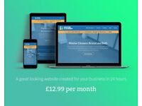 Website & Marketing Support | Edinburgh | £12.99 per month | Web Design | Web Designer
