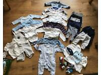 Baby boy big bundle 0-3 months
