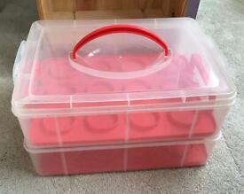 Cupcake box 2 Tier (new)