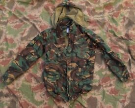 DPM Combat Jacket (Size Large) with Detachable Hood