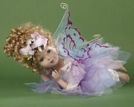Brand new stunning fairy porcelin doll