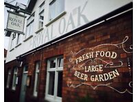 Assistant Bar Manager at The Royal Oak, Gloucester Road