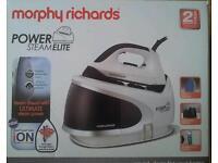 Morphy Richards 330014 Power Steam Elite Iron New In Box