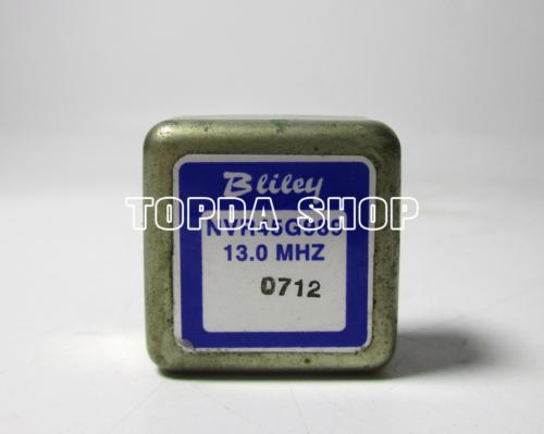 used 1pc  OCXO NVR45G989 NV45G989 13MHZ 13.0MHZ