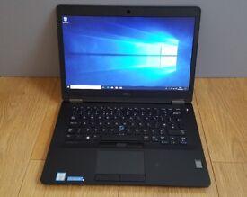 Dell Latitude E7470 Intel i5-6300U 128GB SSD 8GB RAM Windows 10 Pro