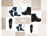 Faux Leather Chelsea Boot sizes 4 5 6