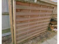 5x6 Fence Panels x 11 - Great Condition