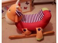 Children rocking horse