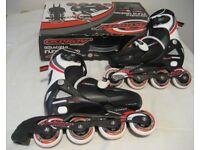 Adjustable inline skates sizes 1-4 (33-37)