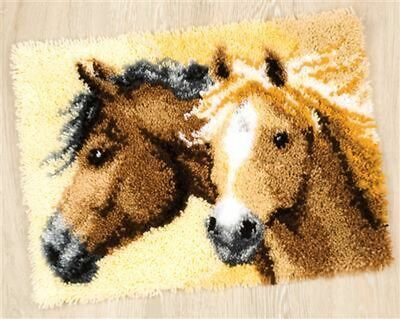 "Vervaco Knüpfteppichpackung "" Feurige Pferde ""  PN-0144834"