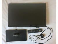 """Toshiba D1 Series 22D1333B - 22"""" LED TV with DVD Player"""