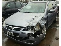 Vauxhall Corsa 1.2 Z12XEP Z163 56 plate breaking for spares.