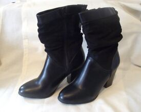 Women's Black 'Boots from Dorothy Perkins, UK Size 6 NEW