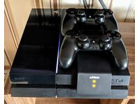 PS4, 2 Controllers, Wireless Charging Dock & 5 Games incl FIFA 18