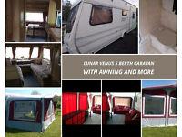 Lunar Venus 5 Berth Caravan