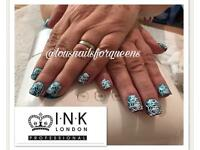 Mobile and home based professional gel nail technician