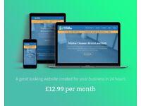 Website & Marketing Support | Leeds | £12.99 per month | Web Design | Web Designer