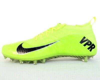 Nike Vapor Ultimate Volt TD Low Football Cleats Shoe Bag Included Men's NIB