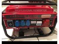 Premium kraft professional generator - brand new -