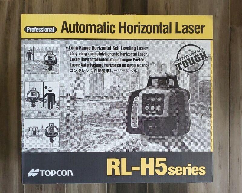Topcon Automatic Horizontal Laser-RL-H5 SERIES