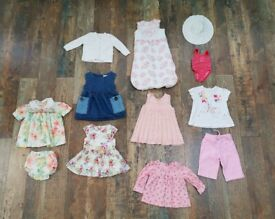 Girls clothes bundle age 3-6 months. Mostly NEXT!