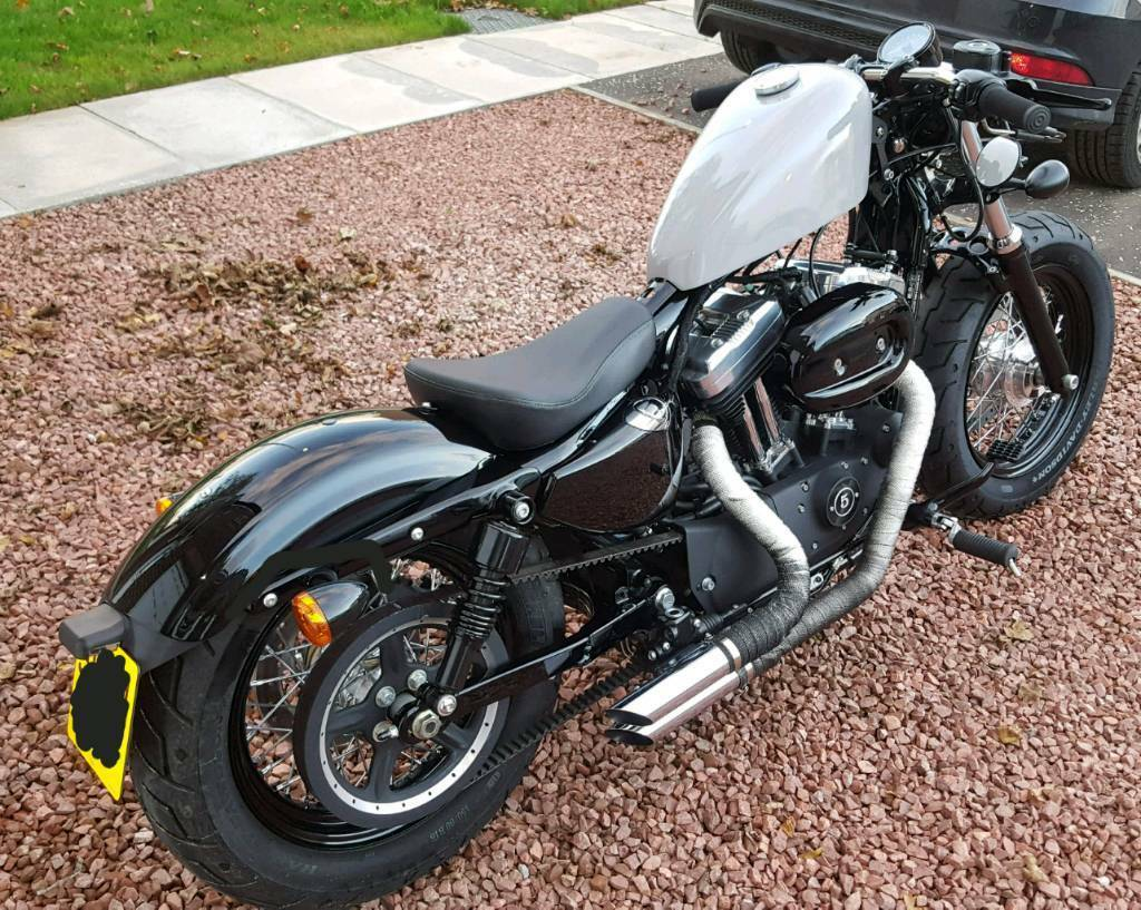 harley davidson 48 forty eight 1200xl custom bobber sportster in kilmarnock east ayrshire. Black Bedroom Furniture Sets. Home Design Ideas